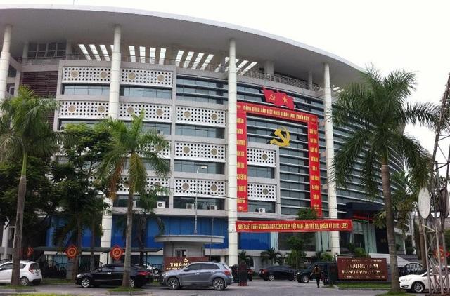 Trung tâm hành chính công tỉnh Thanh Hóa.