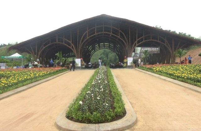 Công viên sinh thái tre luồng đầu tiên tại Thanh Hóa.
