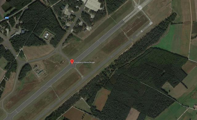 Căn cứ quân sự của Bỉ không được làm mờ trên bản đồ Google Maps (Ảnh: Google Maps)
