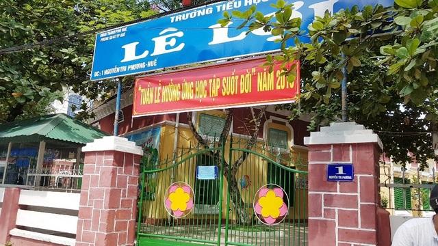 Trường tiểu học Lê Lợi, TP Huế.