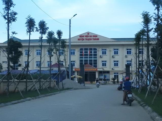 Bệnh viện Đa khoa huyện Thạch Thành