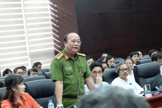 Đại tá Lê Văn Chính - Phó Giám đốc Công an TP Đà Nẵng thông tin tình tiết mới trong vụ hai mẹ con du khách tử vong.