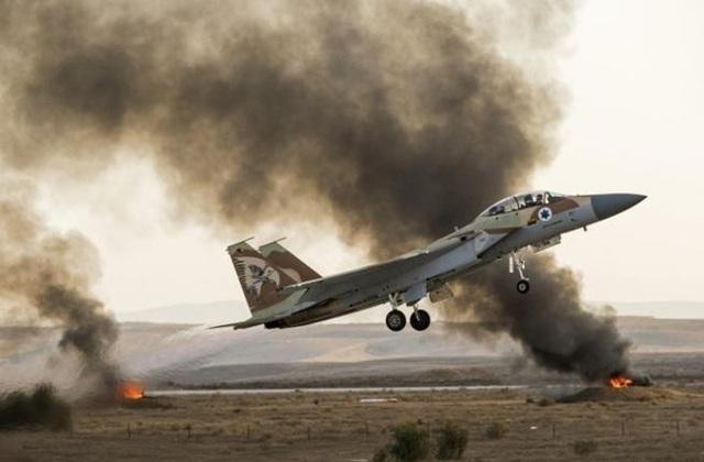 Máy bay chiến đấu F-15 của Israel (Ảnh: AFP)