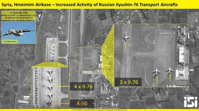 Nga tăng cường phi đội ở căn cứ Hmeimim sau vụ máy bay trinh sát bị bắn rơi ở Syria. (Ảnh: ISI)