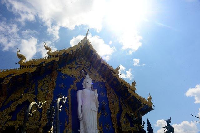 Ngôi đền được tái dựng từ tàn tích cũ của ngôi đền cổ cách đây 100 năm.