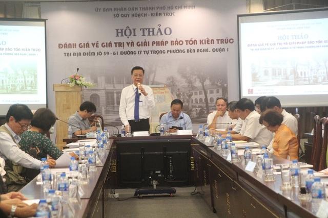 Phó Giám đốc Sở Quy hoạch – Kiến trúc TP Nguyễn Thanh Toàn cho biết sẽ ghi nhận đầy đủ các ý kiến, báo cáo UBND TPHCM