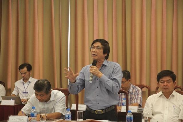 TS Trần Ngọc Chính – Chủ tịch Hội Quy hoạch phát triển đô thị Việt Nam - đặt vấn đề chính quyền TPHCM mở rộng trụ sở, tập trung đông người gây áp lực giao thông khu vực trung tâm