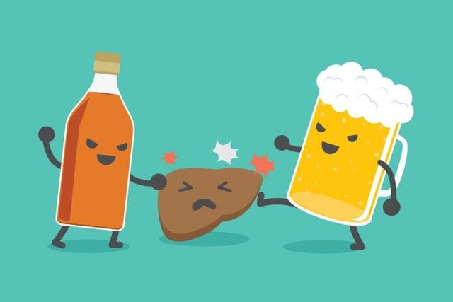 Bia rượu và tổn thương gan: Trả giá vì nuông chiều bản thân - 1