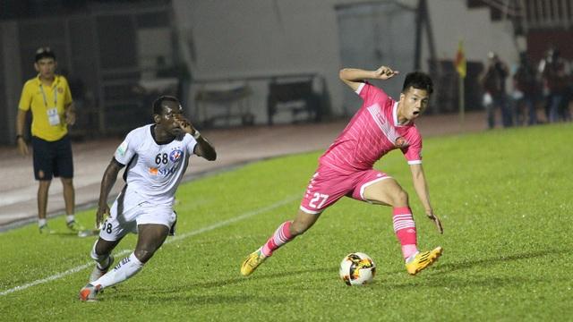 Sài Gòn FC phủ nhận thông tin sẽ chuyển hộ khẩu về Cần Thơ (ảnh: Trọng Vũ)
