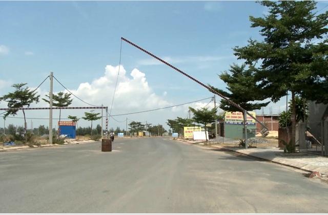 Hạ tầng ở các khu đất được giao cho các nhà đầu tư BT ở Khu đô thị mới Điện Nam – Điện Ngọc.