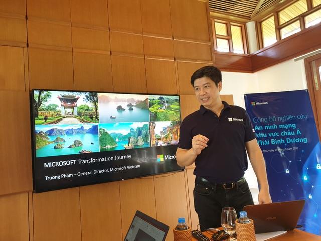 Ông Phạm Thế Trường, Tổng Giám Đốc Microsoft Việt Nam.