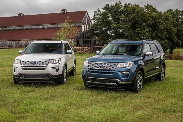Hai phiên bản đặc biệt của Ford Explorer