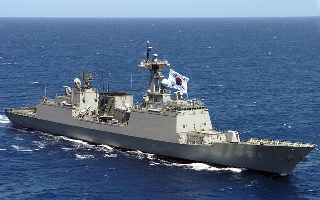 Tàu khu trục Munmu the Great của Hải quân Hàn Quốc (Ảnh: Wikipedia)