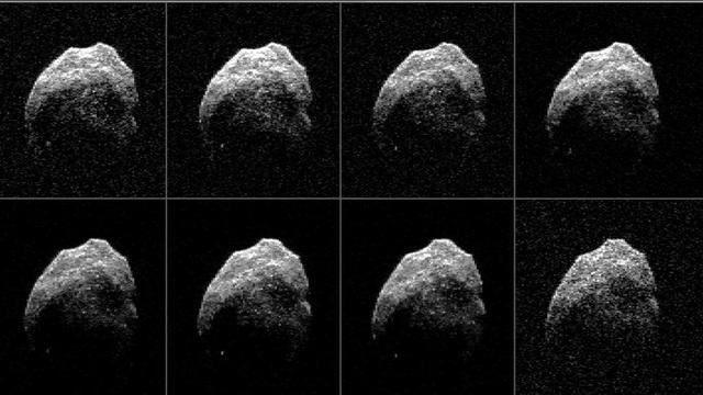 Góc nghiêng của chiếc đầu lâu không gian - ảnh: NASA