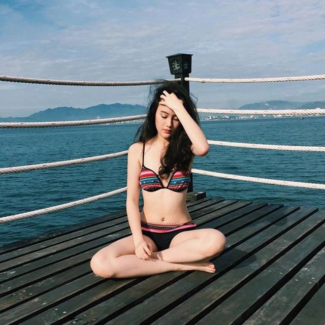Instagram gần 500.000 lượt theo dõi thường xuyên chia sẻ hình ảnh cuộc sống đời thường của hot girl Lào.
