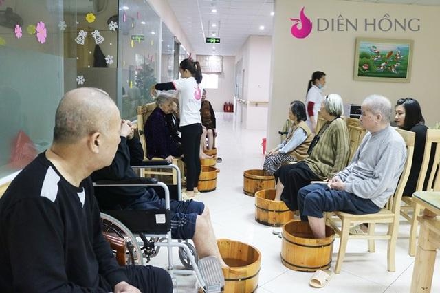 (Một hoạt động của Viện dưỡng lão Diên Hồng tại Hà Đông)