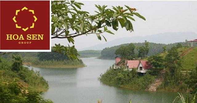 Hoa Sen đã quyết định dừng triển khai Dự án Khu du lịch nghỉ dưỡng, sinh thái Đầm Vân Hội.