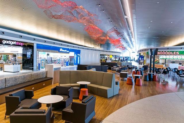 Bên trong sân bay quốc tế Perth, Australia