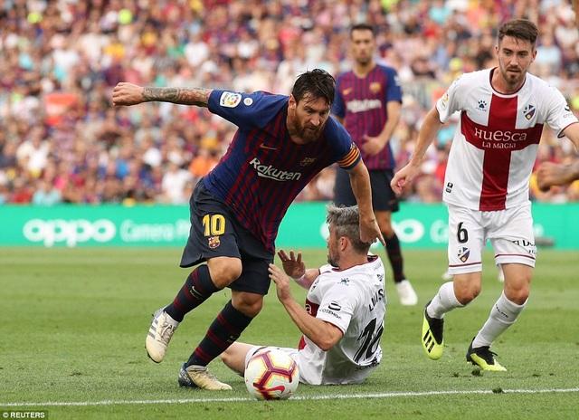 Messi chơi hay trong vai trò nhạc trưởng của Barcelona