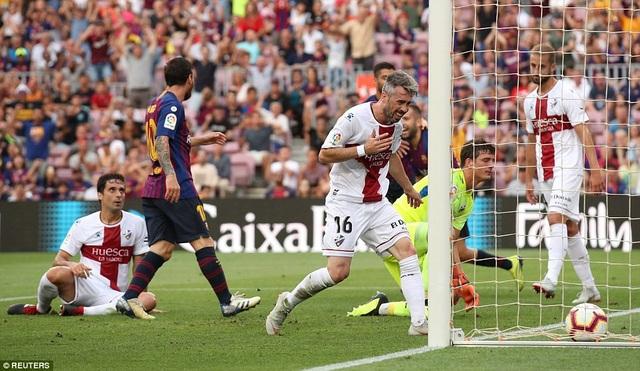 Huesca đã chơi đầy ấn tượng...