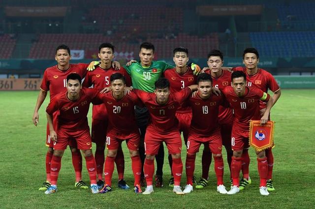 Đội tuyển Olympic Việt Nam nhận được gần 5 tỷ đồng tiền thưởng sau ASIAD 2018. Ảnh minh họa.