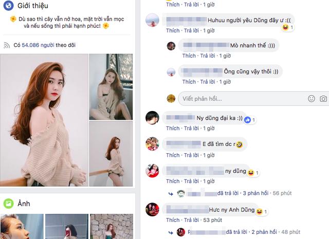 Các fan của Tiến Dũng đã tìm thấy thông tin của L.T.Thanh