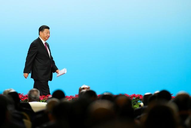 Ông Tập Cận Bình phát biểu tại hội nghị với sự tham gia của các lãnh đạo và đại diện doanh nghiệp Trung Quốc, châu Phi ở Bắc Kinh hôm 3/9 (Ảnh: Reuters)