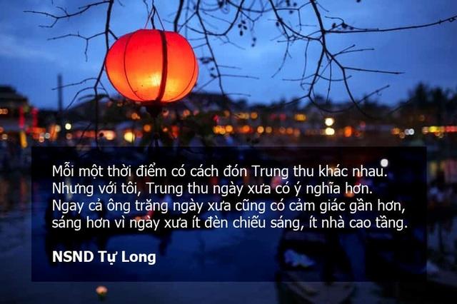 Danh hài Tự Long nói về Tết Trung thu: Trẻ con giờ thiệt thòi?
