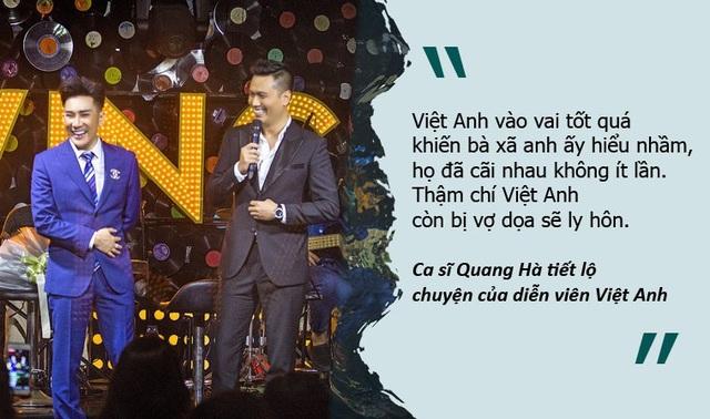 """Việt Anh bị vợ ghen tuông, doạ ly hôn vì đóng """"cảnh nóng"""""""