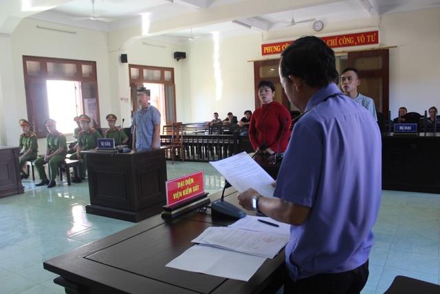 Phiên tòa xét xử bị cáo Ngô Minh Hiếu