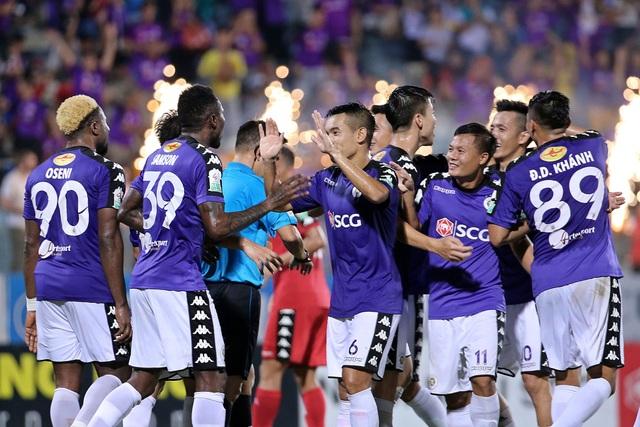 Các đội bóng của bầu Hiển vô địch V-League 7/10 lần gần nhất (ảnh: Gia Hưng)
