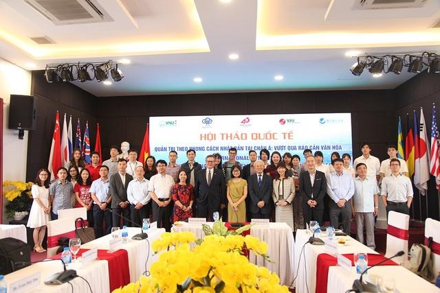 Các đại biểu tham dự hội thảo quốc tế