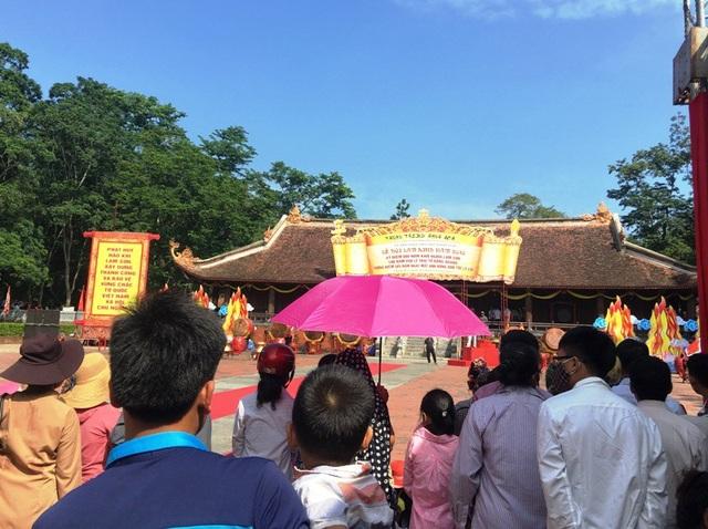 Ban tổ chức đang tổng duyệt lại các chương trình nghi lễ và nghệ thuật chuẩn bị cho ngày chính lễ 1/10.