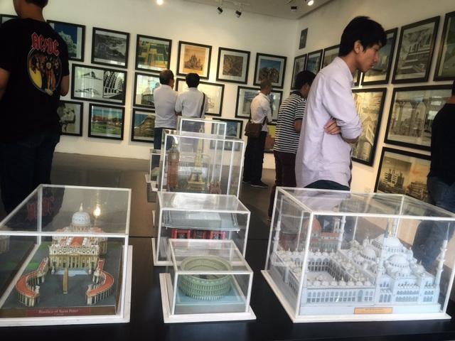 Chiêm ngưỡng những kiệt tác kiến trúc thế giới ngay giữa lòng Hà Nội - 4
