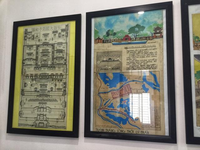 Lịch sử kiến trúc Việt Nam cũng được tái hiện một cách sinh động.
