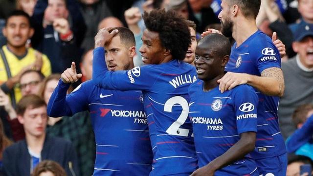 Chelsea đang thăng hoa ở giai đoạn đầu mùa giải năm nay
