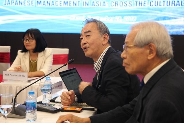 Đại biểu Nhật Bản tham dự hội thảo