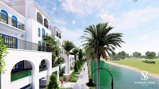 Biệt thự sinh thái nghỉ dưỡng Sunshine Villas hội tụ đầy đủ các đặc quyền riêng biệt mang đến những trải nghiệm đẳng cấp, thượng lưu.