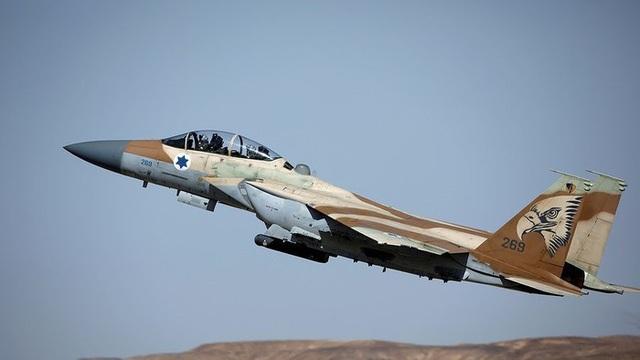 Một máy bay chiến đấu của Israel (Ảnh: Reuters)