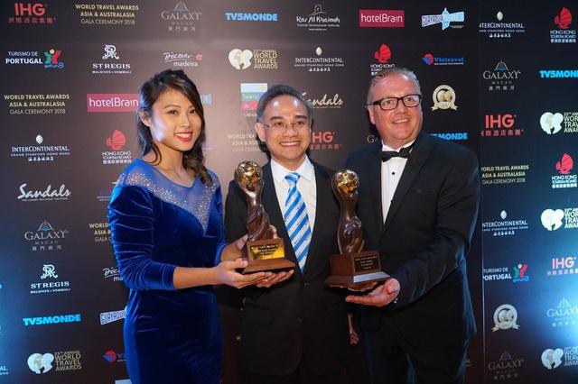 Trân trọng cảm ơn quý khách hàng đã tin tương và đồng hành cùng Vietravel giữ vững Giải Thưởng Du Lịch Thế Giới 6 năm liên tiếp (2013 – 2018)