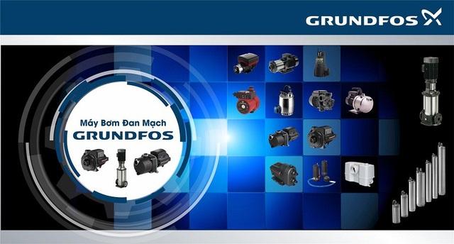 Một số dòng sản phẩm chiến lược của Grundfos giới thiệu tại triển lãm