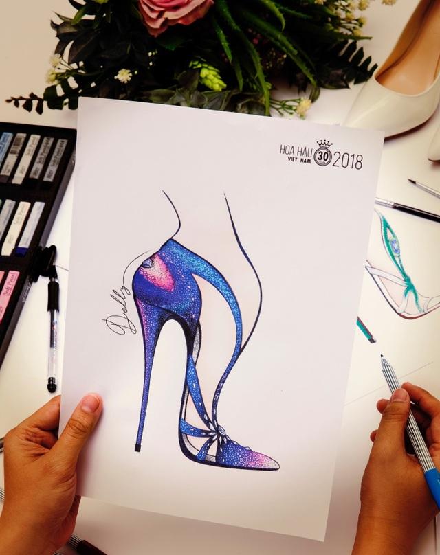 Hé lộ đôi giày 15000usd cho Tân Hoa hậu Việt Nam 2018 - Ảnh 5.