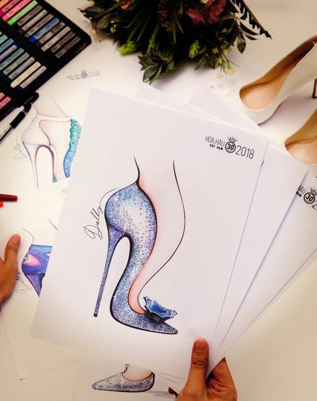 Hé lộ đôi giày 15000usd cho Tân Hoa hậu Việt Nam 2018 - Ảnh 6.