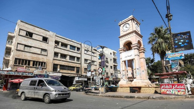 Các lực lượng phiến quân và thánh chiến kiểm soát Idlib từ năm 2015 (Ảnh: AFP)
