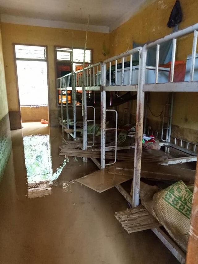 Một góc phòng nội trú của các học sinh