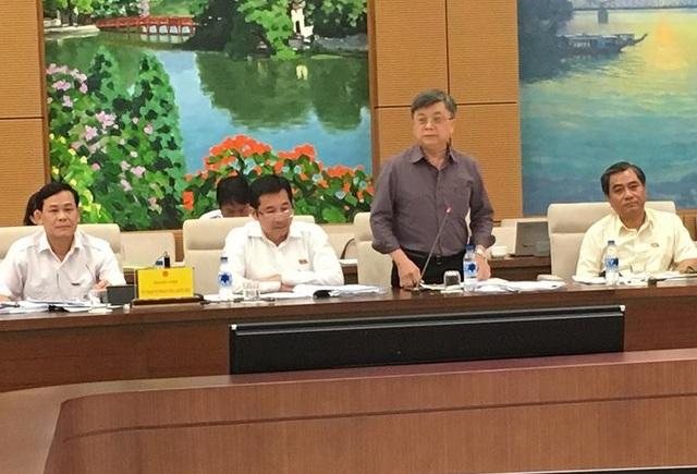 Đại biểu Quốc hội Trương Trọng Nghĩa phân tích những đặc điểm của tội phạm bộc lộ thời gian qua
