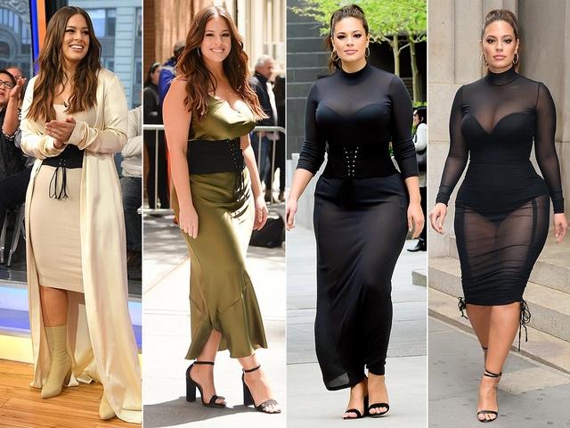 ASHLEY GRAHAM diện loạt váy áo sexy trong 1 ngày đi quảng bá sách mới tại New York