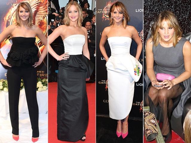 JENNIFER LAWRENCE thay liền 4 bộ đồ sang trọng của Dior khi dự LHP Cannes chỉ 1 ngày!