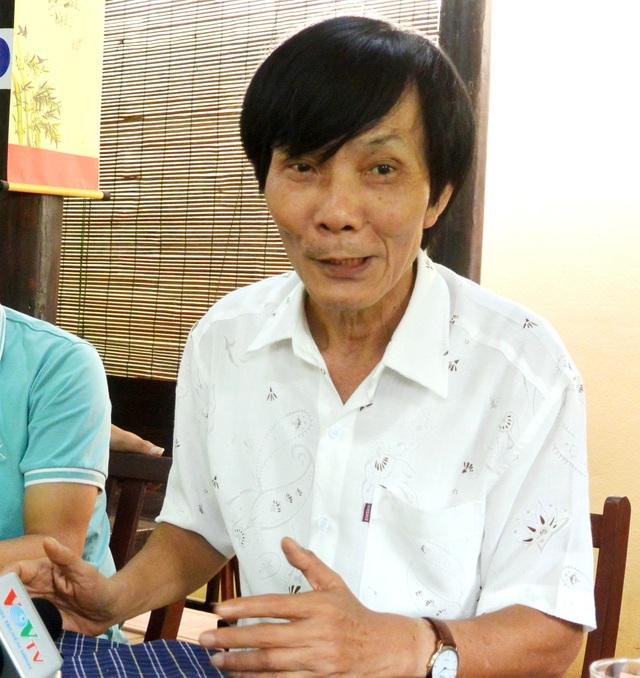 Ông Nguyễn Sự chia sẻ để phát triển du lịch ở rừng dừa Bảy Mẫu bên vững