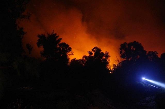 Hiện chưa có thống kê cụ thể thiệt hại mà vụ cháy gây ra